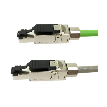 CAT6 industriële STP connector